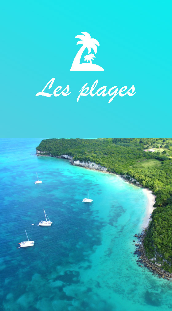 Visiter plages Marie-Galante