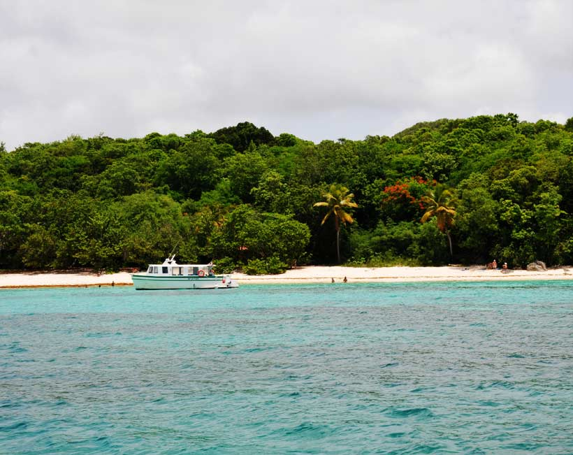 Plage d'Anse Canot Marie-Galante