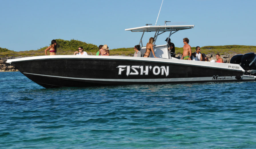 Bateau rapide Fish'on, visiter Marie-Galante