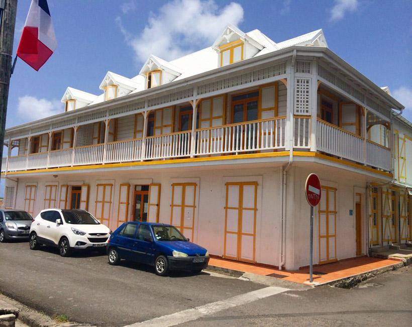 Grand bourg ville color e o pass et pr sent se cotoient - Office tourisme marie galante ...